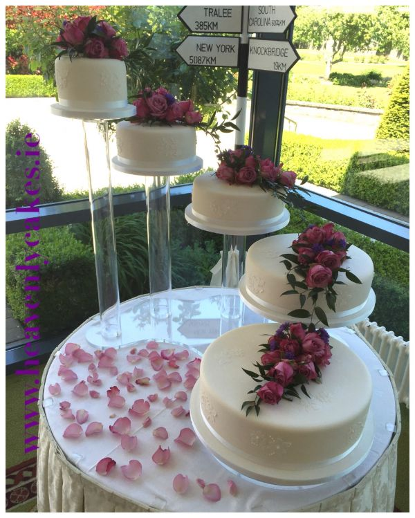 5 Tier Rose Fresh