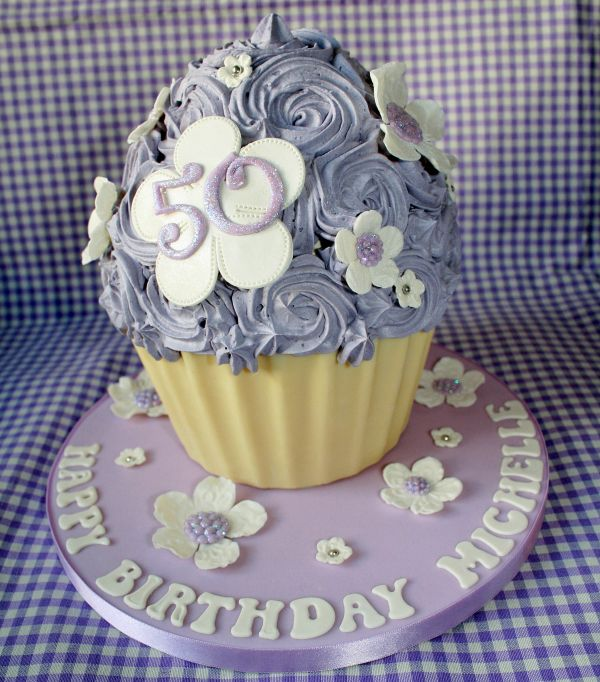 Giant Cupcake Birthday