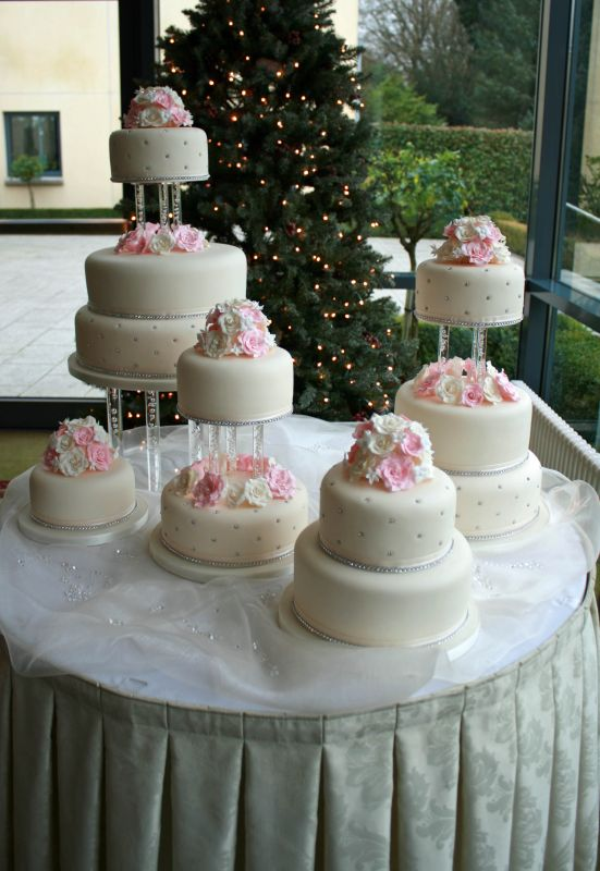 Multi-tiered Cake