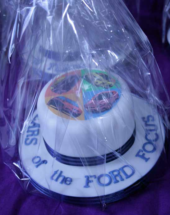 Corporate Ford Cake