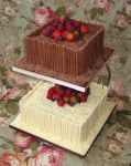 WeddingCakeChocolate2Tier