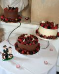 WeddingCakeChocolateWrap&Fruit