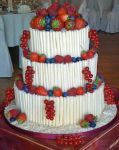Wedding Cake Fresh Fruit