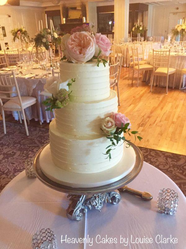 Blush Pink Wedding Cakes