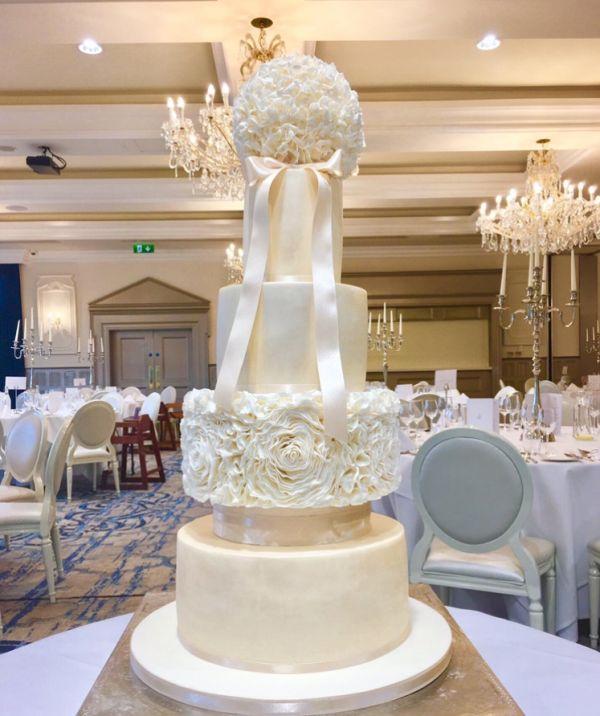 Lough Erne Wedding Cake
