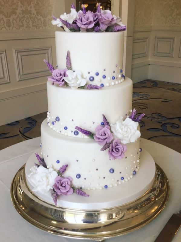 Lilac Wedding Cakes
