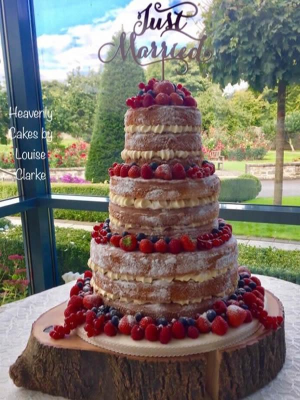 Naked Buttercream Cake