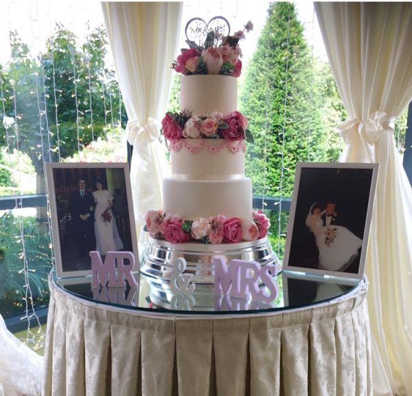 Silk Rose Cake