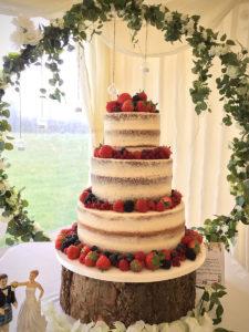 Fruit Berry Wedding Cakes