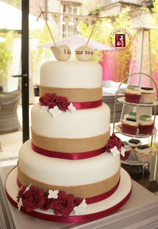 I Do Me Too Wedding Cake